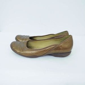 Privo Shoes - Privo by Clarks Flats Leather Metallic Comfort